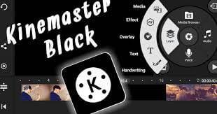 تحميل برنامج كين ماستر KineMaster مهكر الاسود 2021 من ميديا فاير